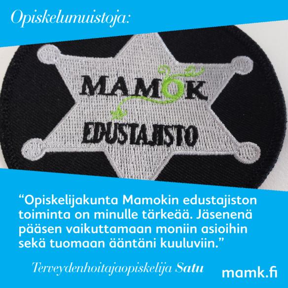 Opiskelumuistoja - terveydenhoitaja (AMK)